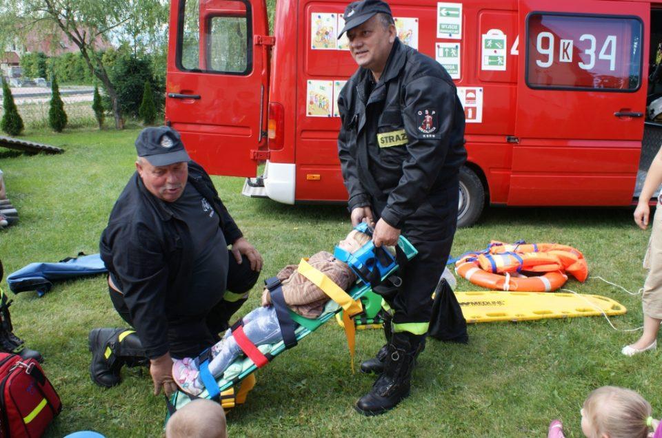 Witamy strażaków z Mszalnicy