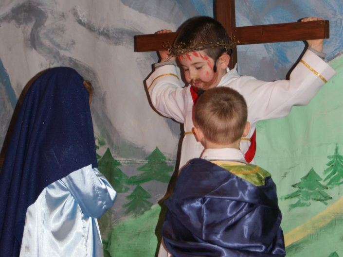 Z Matką Bożą na Drodze Krzyżowej Pana Jezusa