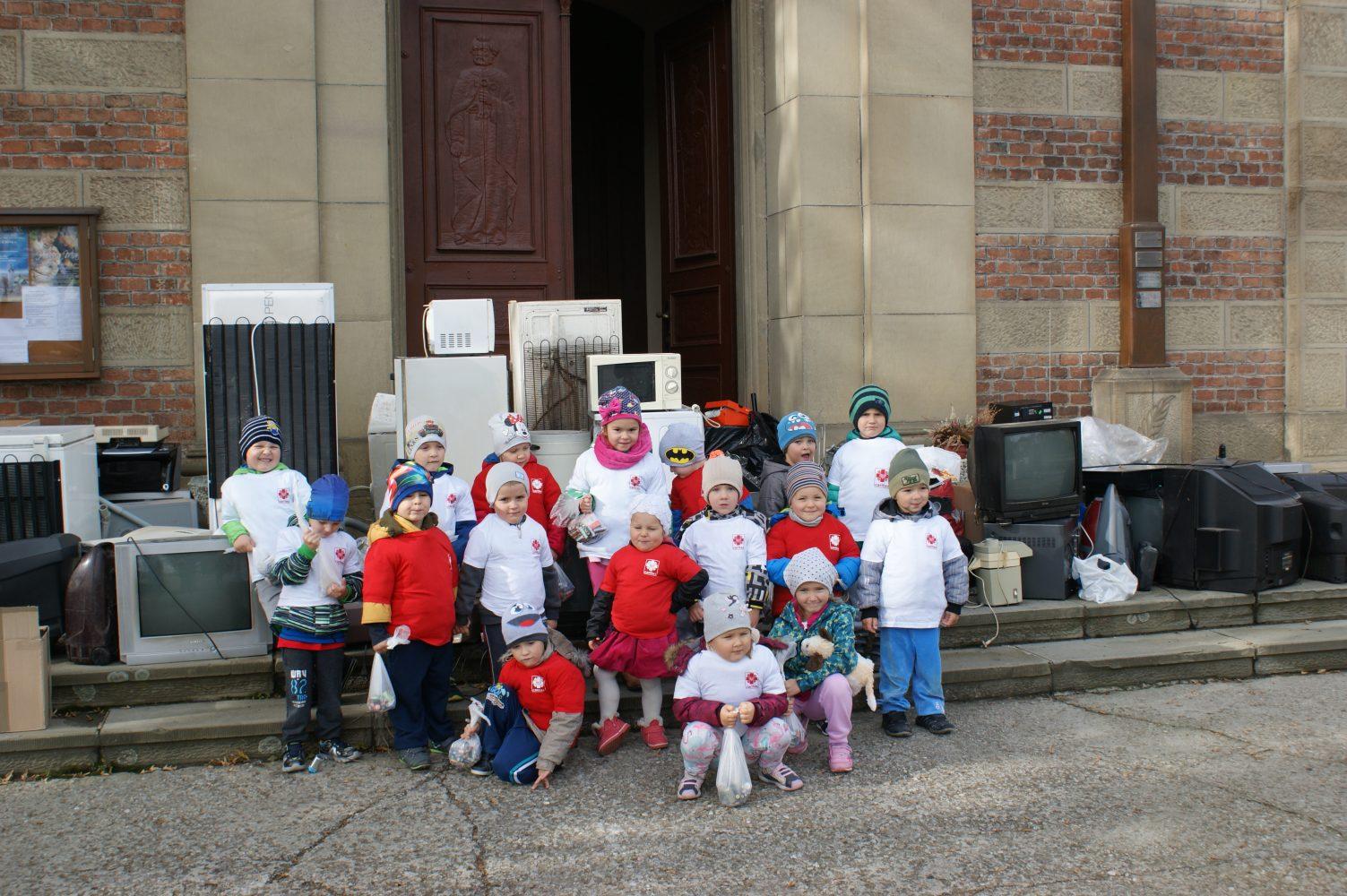 Zbiórka zużytych baterii- akcja Caritas
