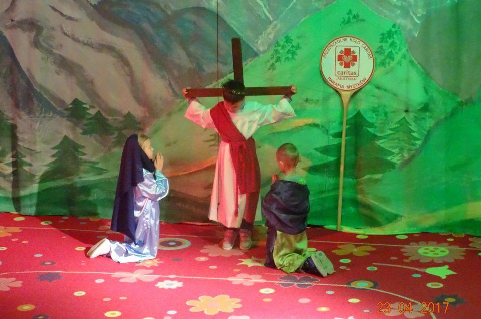 """Spektakl wielkanocny """"Alleluja! Jezus żyje"""""""