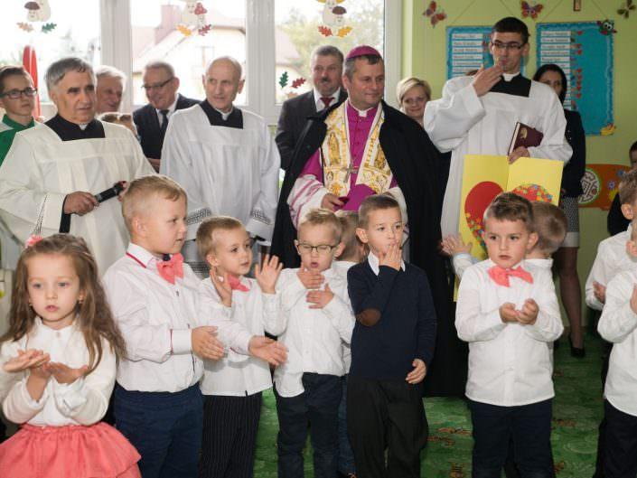 Wizyta ks. Bpa Leszka Leszkiewicza w naszym Przedszkolu