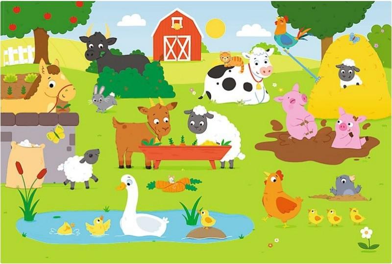 Na wiejskim podwórku – propozycje aktywności – dzieci starsze (5-6 latki)