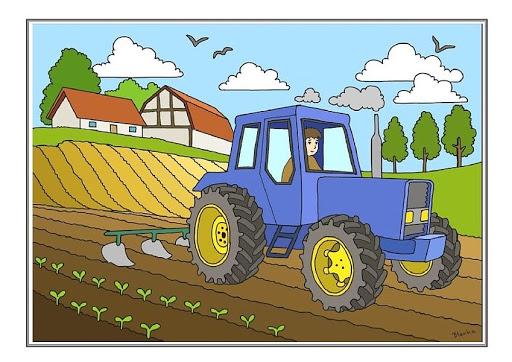Wiejskie produkty i maszyny rolnicze – propozycje aktywności – dzieci starsze (5-6 latki)