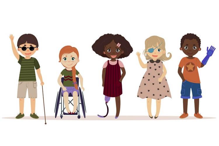Świat osób z niepełnosprawnością to nasz świat – DZIECI STARSZE 5-6 latki