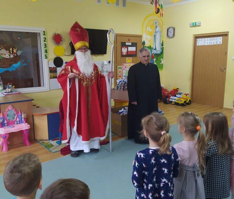 Spotkanie ze świętym Mikołajem 🎁