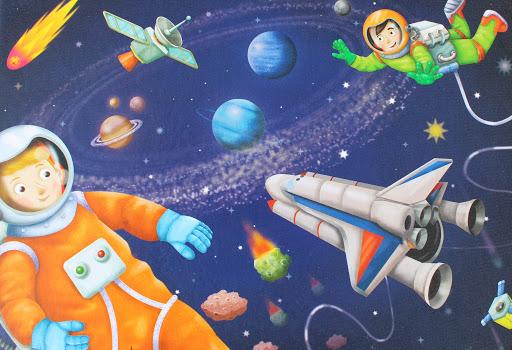 W przestrzeni kosmicznej