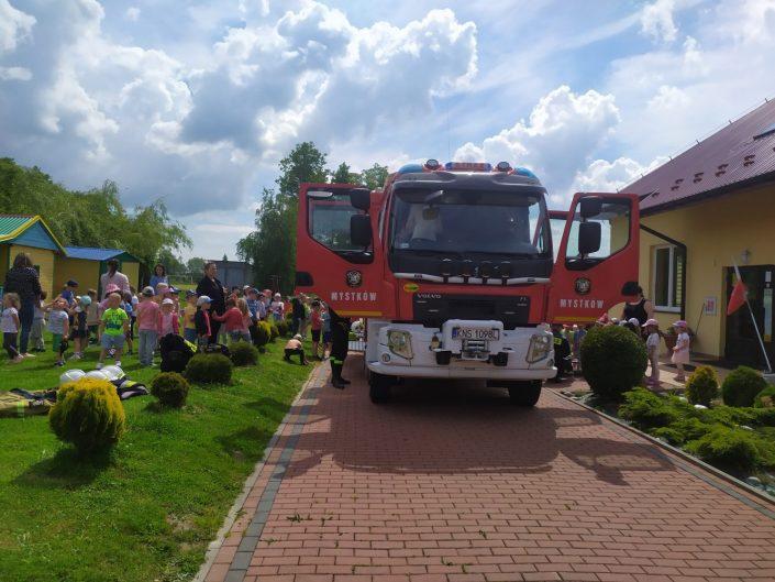 Odwiedziny strażaków